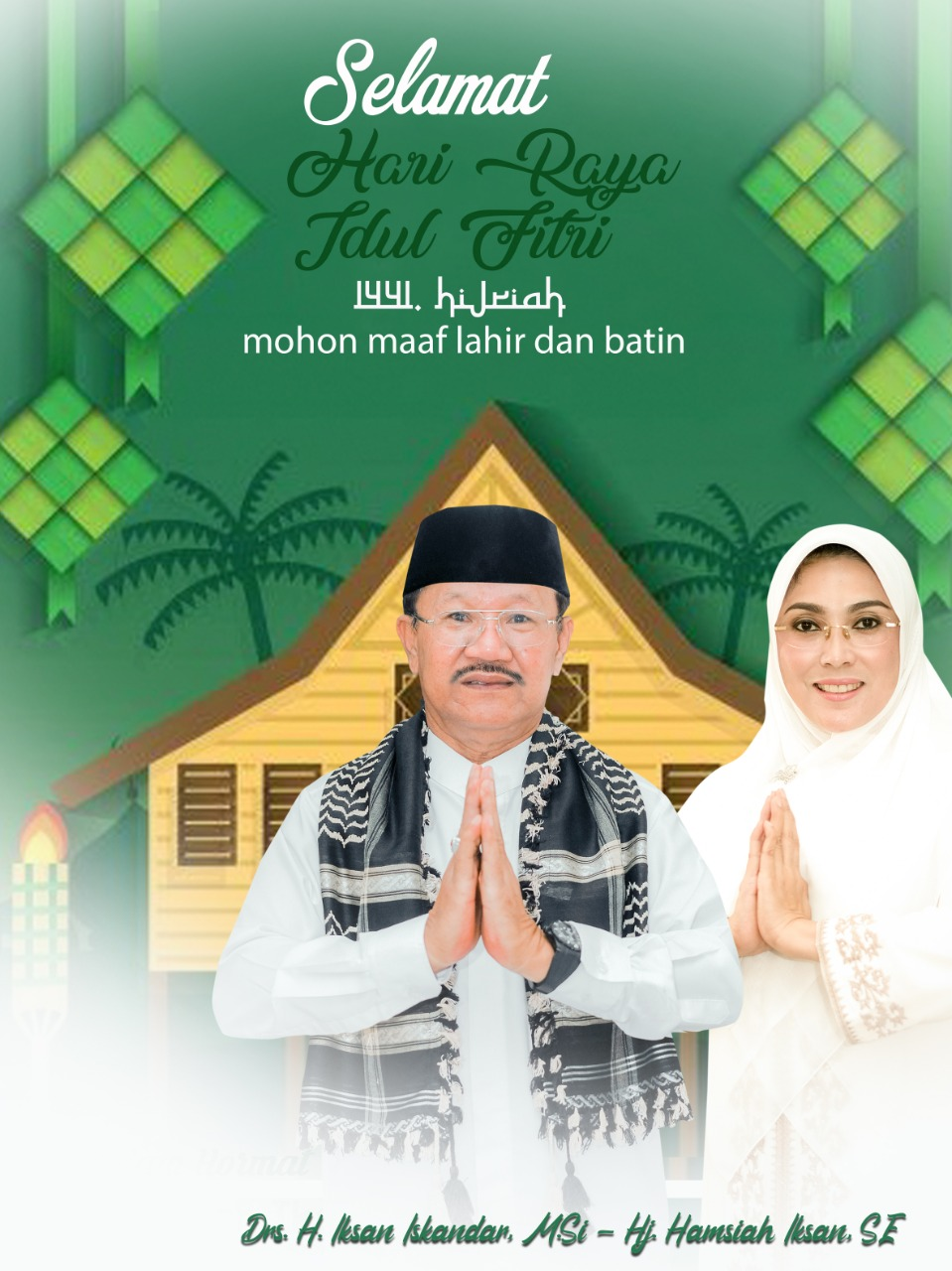 Ucapan Idul Fitri - Pemda Jeneponto
