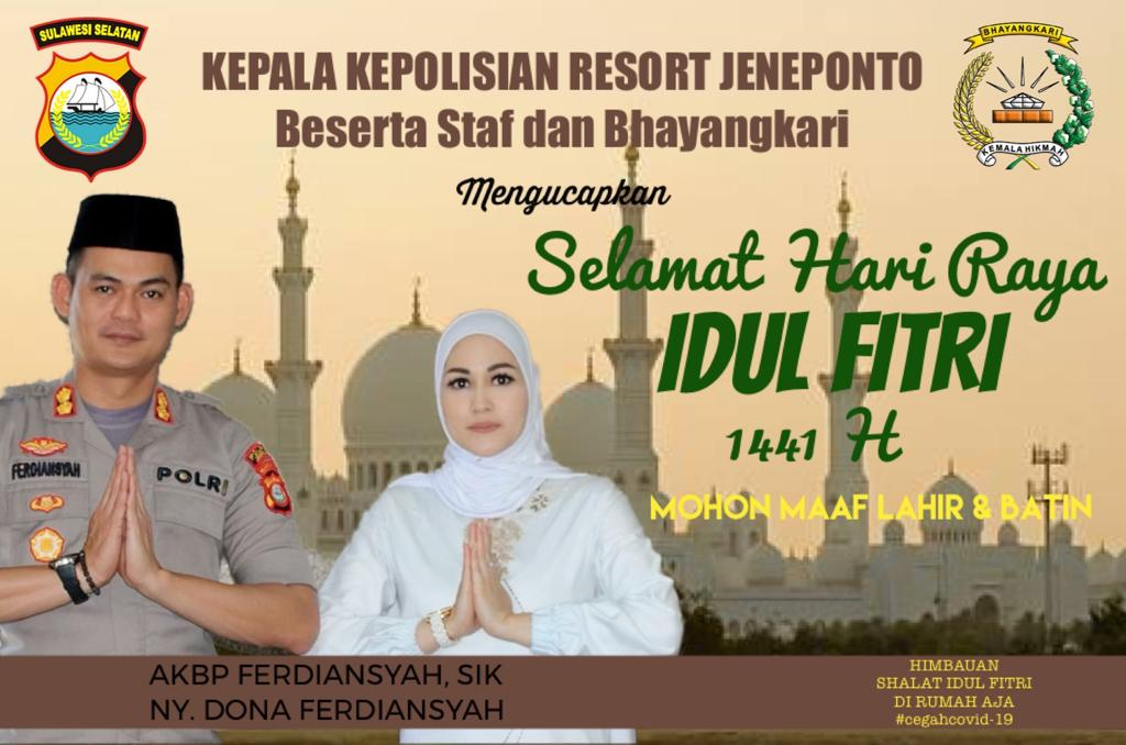 Ucapan Idul Fitri - Pemdes Datara